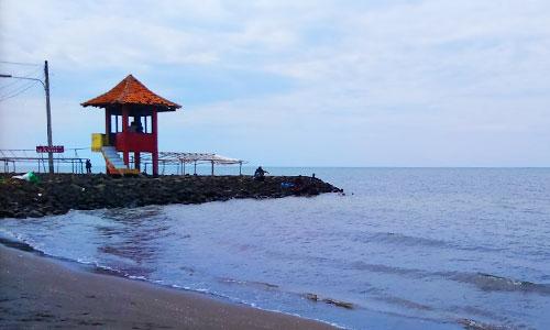Objek wisata pantai Pondok Bali