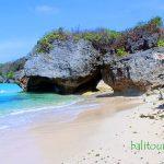 Tempat wisata pantai yang sepi pengunjung di Bali