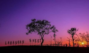 Objek wisata Lahangan Sweet Karangasem