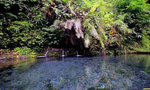 Objek wisata Lembah Bidadari Ubud