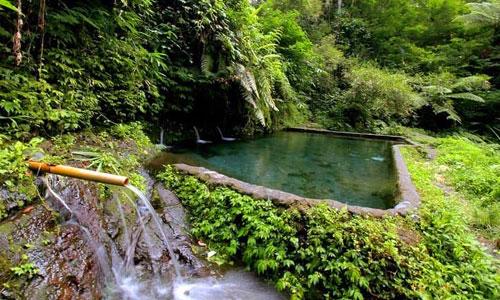 Objek wisata Lembah Bidadari di desa Taro Tegalalang