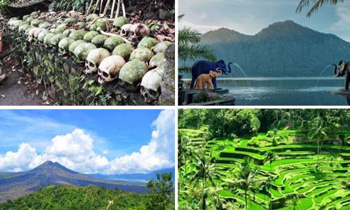 Paket tour hot spring - Trunyan Bali