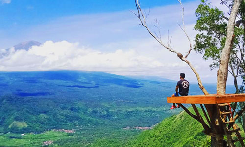 Panorama indah di Lahangan Sweet Karangasem