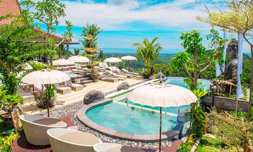 The Monkey Bar at Bella Kita Klungkung Bali