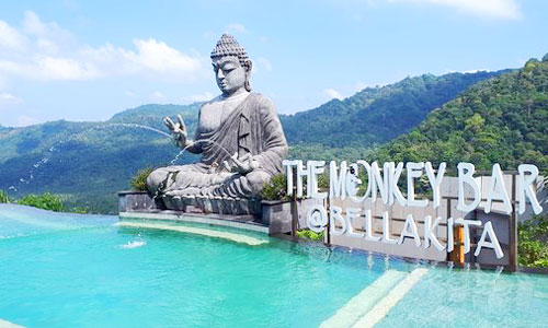 The Monkey Bar at Bella Vista di Klungkung