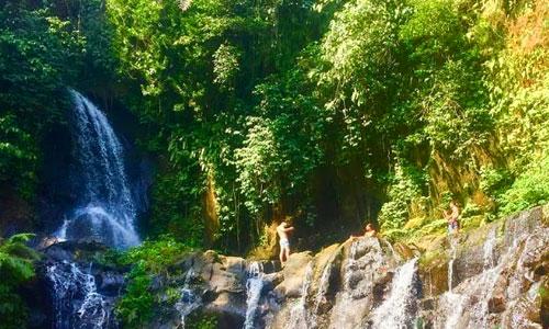 Objek wisata Taman Sari Waterfall