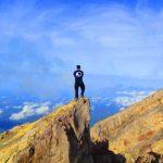 Larangan atau pantangan saat mendaki gunung Agung