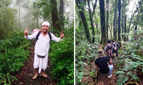 Mendaki ke Puca Mangu di Gunung Catur