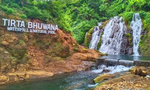 Objek wisata air terjun Tirta Buana di Buleleng