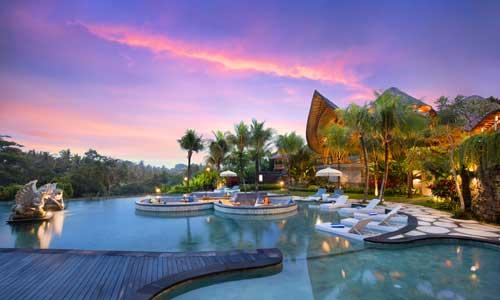 Tlaga Singha River Country Club di Gianyar Bali